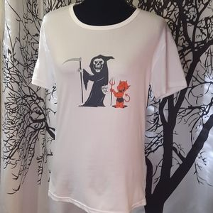 Kill me Devil & Grim Reaper T-shirt